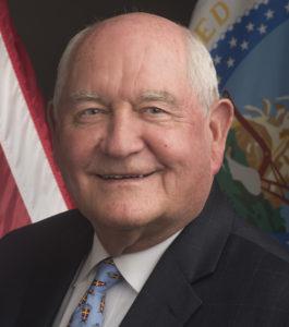 USDA Secretary Sonny Perdue